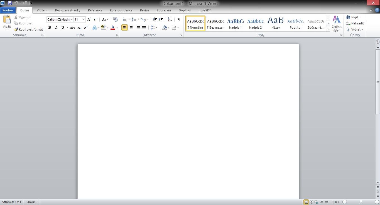 Microsoft Office 2010, populární balík profesionálních aplikací pro kancelář
