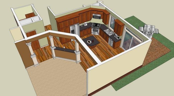 Google SketchUp - rychlé 3D návrhy