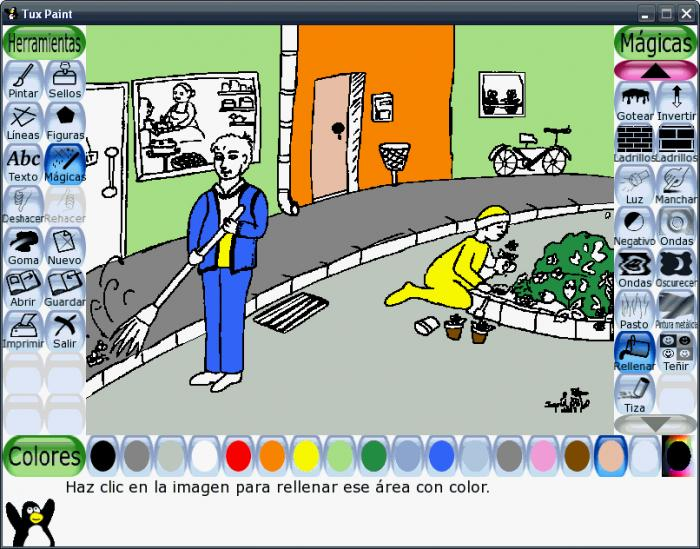 Tux Paint - kreslení pro děti