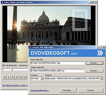 Free 3GP Video Converter, převod 3GP video formátu