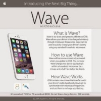 Wave: nabijte iPhone s iOS 8 v mikrovlnce