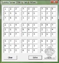 Sudoku solver - Sacredware