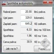 Spot�eba Automobilu