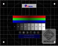TEST LCD MONITORU