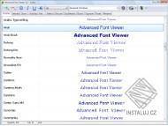 Advanced Font Viewer