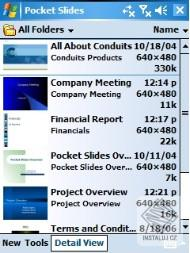 Pocket Slides