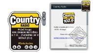 Country Rádio - miniaplikace