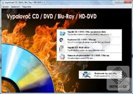 Vypalova� CD / DVD / Blu-ray / HD-DVD