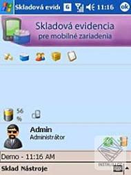 OBERON pre PDA - Skladová evidencia