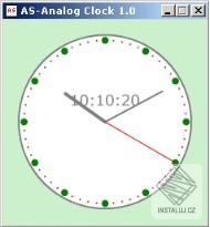 AS-Analog Clock