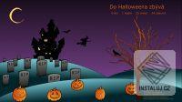 Halloweenský spořič obrazovky