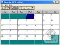 FREE Itty Bitty Calendar