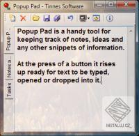 Popup Pad