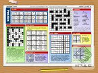 Newspaper Puzzle Challenge