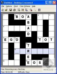 Desktop Crosswords