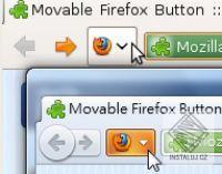 Move Firefox Button