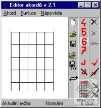 Editor akordů
