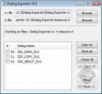 Dialog Exporter