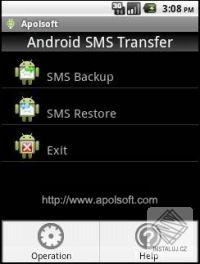 Apolsoft SMS Transfer for Android Phone
