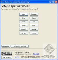 Software pro amat�rsk� meteorology