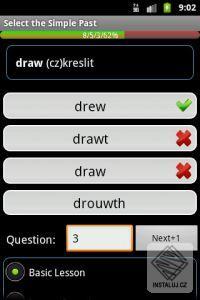 English Irregular Verbs - Android software