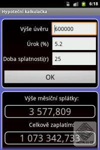 Finanční kalkulačka