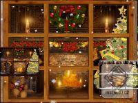 Alternating Christmas Windows