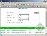 Network Search Engine