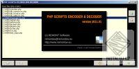 PHP Scripts encoder and decoder