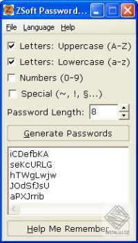 ZSoft Password Generator