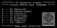 PC Inspector e-maxx