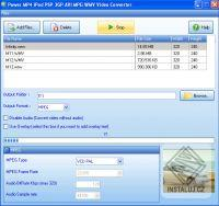 Power MP4 iPod PSP 3GP AVI MPG WMV Video Converter