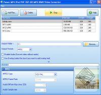 Power MP4 iPod PSP 3GP AVI MPG WMV Video Converter