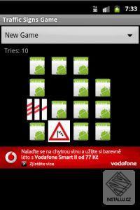Dopravní značky - Pexeso pro Android