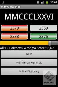 Testy z matematiky pro Android