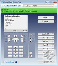 Mobile Master Remote Type