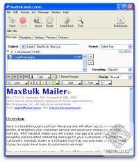 MaxBulk Mailer