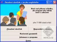 Slovíèka - zkoušení slovíèek