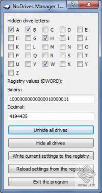 NoDrives Manager
