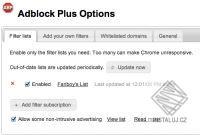 Adblock Plus pro Internet Explorer