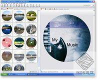 Acoustica CD/DVD Label Maker
