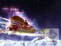 Santas Flight 3D screensaver