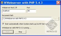 WWebserver with PHP