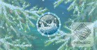 Furry Christmas Clock screensaver