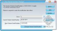 Disk Serial Number Changer