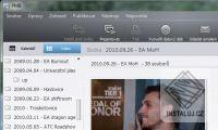 Čeština do Sony Picture Motion Browser