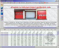 Kalkulace garážových vrat