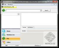 Instant Messaging History Browser