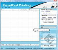 Broadcast Batch Printing