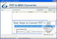 PDS PST to MSG Conversion